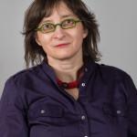 Hélène Chambefort, responsable des archives au département de l'information scientifique et de la communication DISC de l'Inserm, Paris. Portrait réalisé le 11 février 2014 à la Maison de la Chimie, Paris.